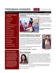 Freeman Honors Newsletter, Fall 2019 Issue by Texas Southern University, Thomas F. Freeman Honors College