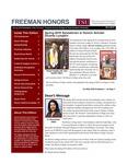 Freeman Honors Newsletter, Spring 2019 Issue