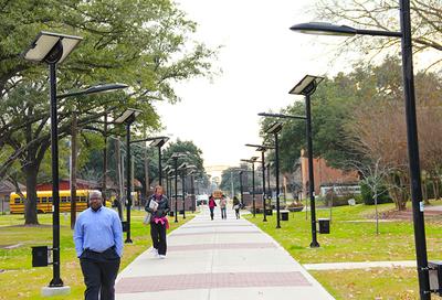 Texas Southern University Tiger Walk North Entrance
