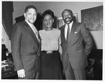 Mickey Leland with Maxine Waters, Willie Brown