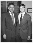 Mickey Leland with Michael Kennedy