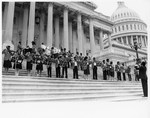 Young Masters of Music Houston Texas on steps of Capitol