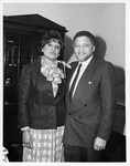 Mickey Leland with Delores Tucker of DNC black caucus by The Mickey Leland Papers & Collection Addendum. (Texas Southern University, 2018)