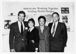 Mickey Leland with Jeff Bridges, Joyce Dewitt, Valerie Harpe