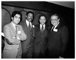 Mickey Leland and others at NDCLUB Fundraiser, 1980 by The Mickey Leland Papers & Collection Addendum. (Texas Southern University, 2018)