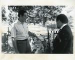 Mickey Leland at government Dairy Farm