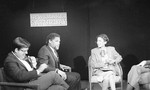 Mickey Leland and other guests on Newsmaker Saturday set