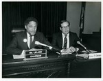 Mickey Leland as chair of the US Postal Committee
