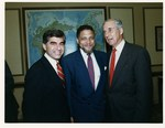 Mickey Leland with Lloyd Bentsen and Mike Dukakis