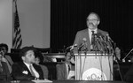 Mickey Leland press conference with U.S. Representatives and Senators press Conference by The Mickey Leland Papers & Collection Addendum. (Texas Southern University, 2018)