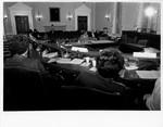 Mickey Leland in committee hearing