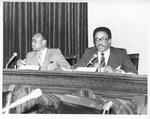 Mickey Leland; others ; hearings in Washington by The Mickey Leland Papers & Collection Addendum. (Texas Southern University, 2018)