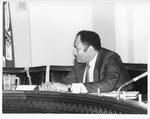 Mickey Leland; others ; hearings in Washington