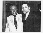 Mickey Leland with Alex Haley ; Henry Waxman ; Unknown others ; by The Mickey Leland Papers & Collection Addendum. (Texas Southern University, 2018)