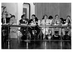 Mickey Leland Leon Panetta and others at Hunger Field Hearing in San Franciso July 1986 by The Mickey Leland Papers & Collection Addendum. (Texas Southern University, 2018)