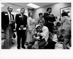 Mickey Leland Leon Panetta and others at Hunger Field Hearing in San Franciso July 1992