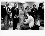 Mickey Leland Leon Panetta and others at Hunger Field Hearing in San Franciso July 1993