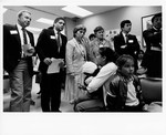 Mickey Leland Leon Panetta and others at Hunger Field Hearing in San Franciso July 1994